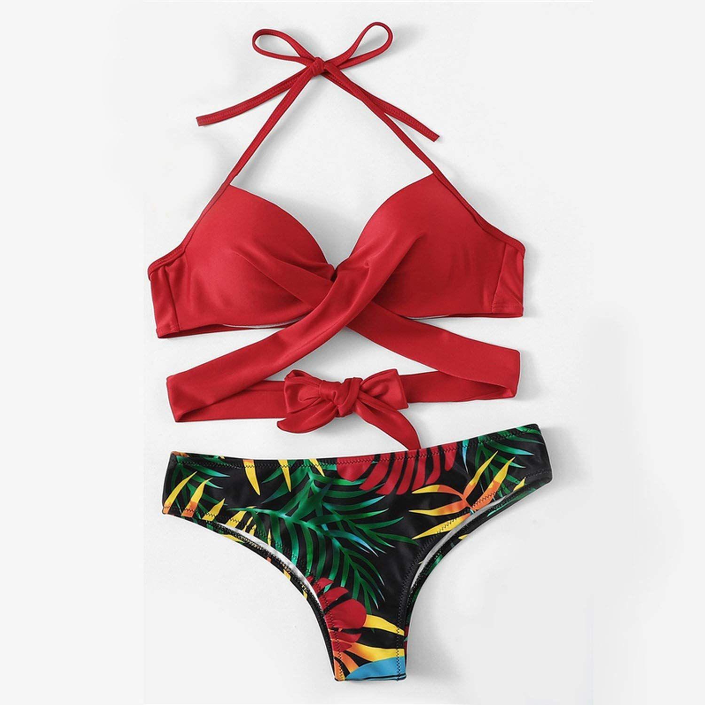 MAJIE Swimwear One Piece Plus Size Women Push Up Bathing Suitbeach Wear High Cut
