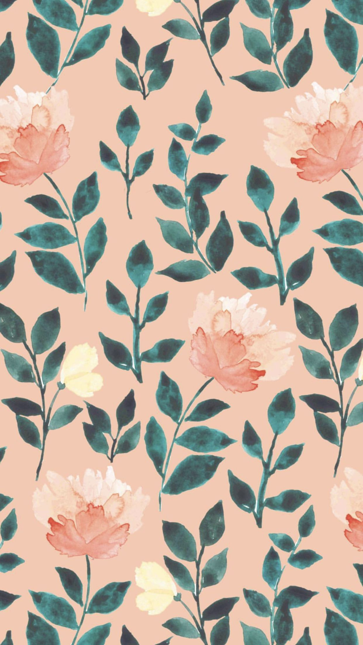 Pattern Iphone Background Wallpaper Pretty Wallpapers Floral Wallpaper