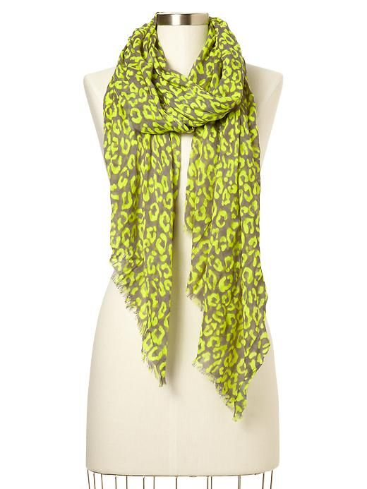 c144edd317 Neon Animal Print Scarf | want it want it want it