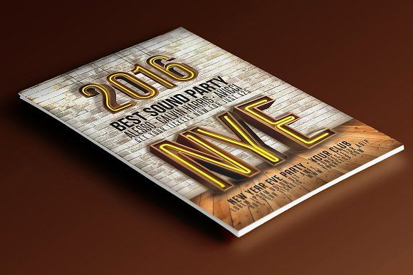new years eve 2016 flyer flyersnew year newyear party