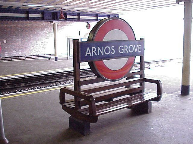 Arnos Grove Tube Station, London | by dct66