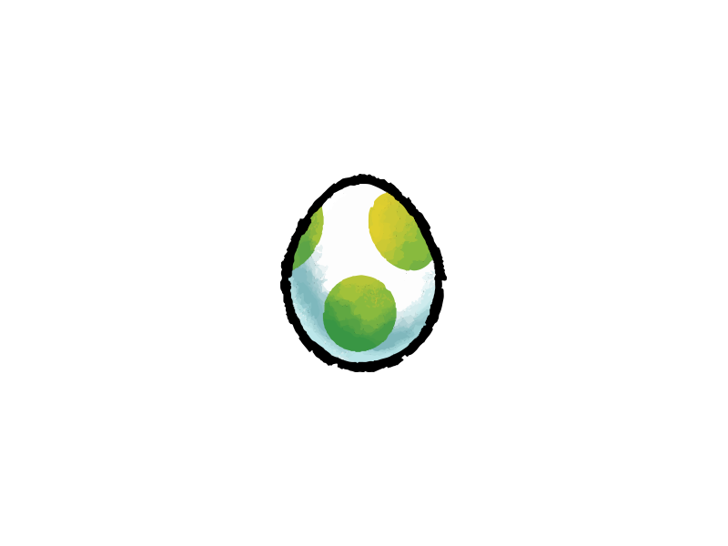 Yoshi S Egg Yoshi Eggs Egg Designs