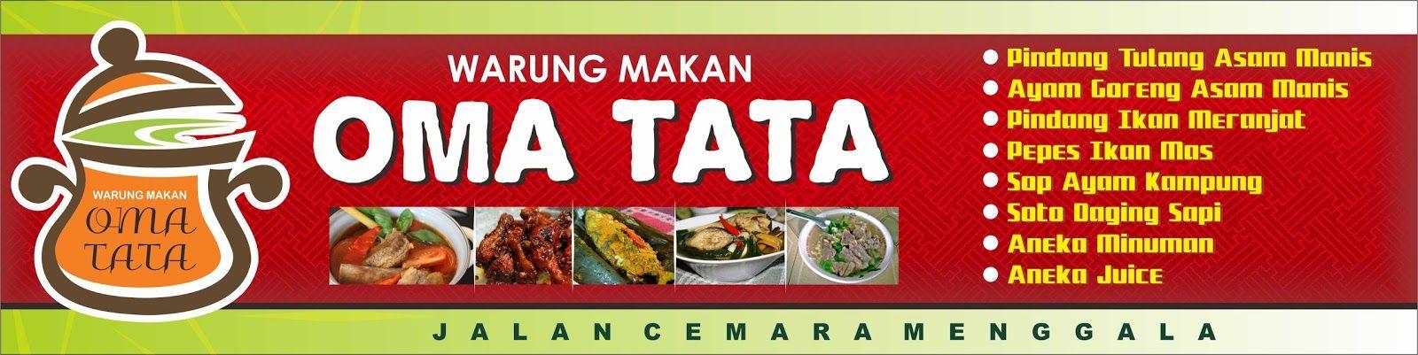 Background Banner Warung Makan Hd - desain spanduk keren