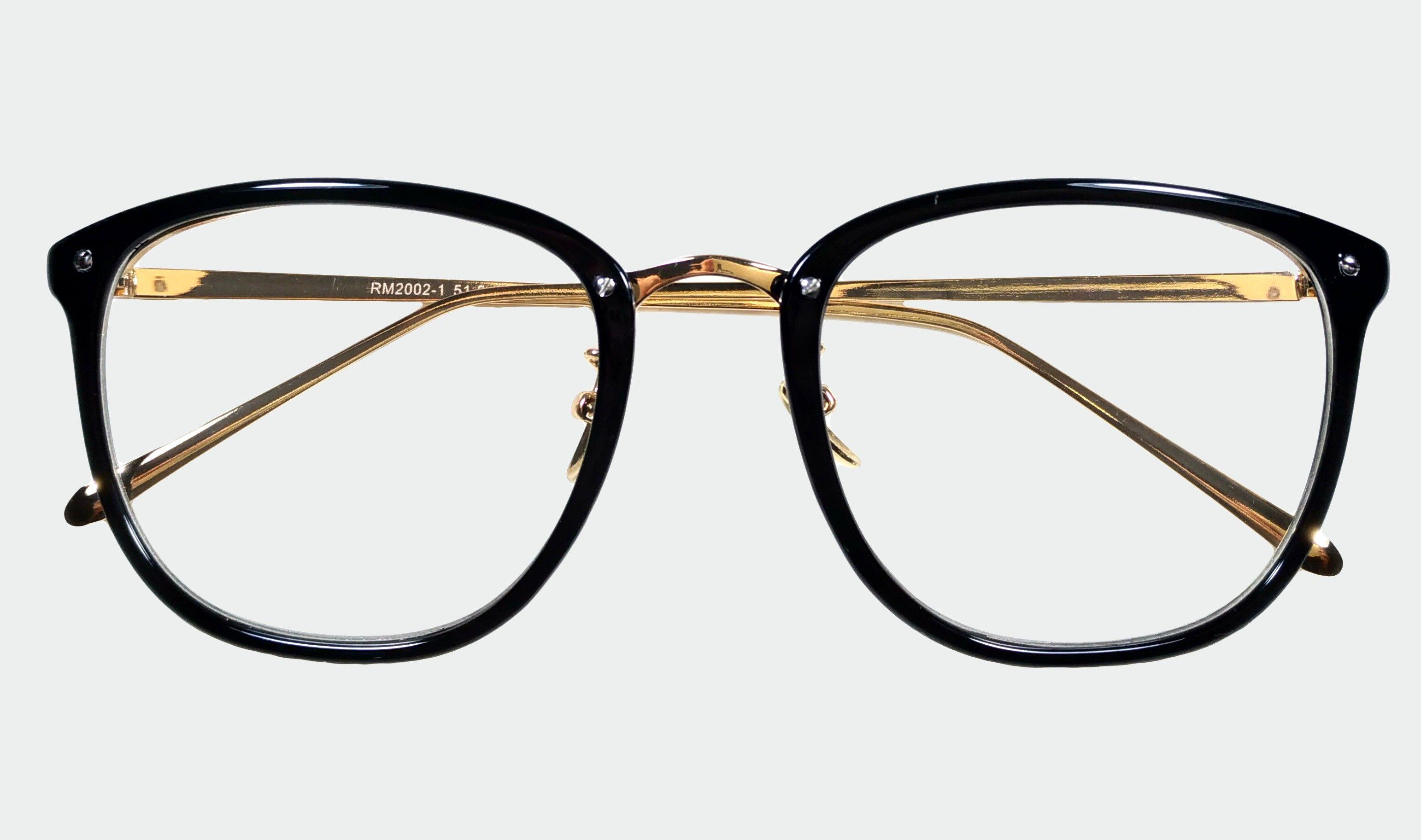 Oculos De Grau Em Acetato Floral Quadrado Com Hastes Em Metal