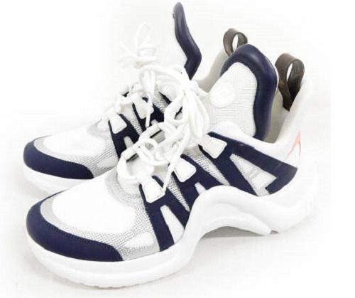 58385fd56ca6 eBay  Sponsored Louis Vuitton Sneakers LV ARCHLIGHT 18SS White US8 UK7.5  EU41.4 Excellent  0006