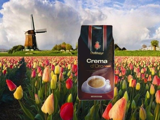 Vier De Lente Met Deze Nieuwe Koffie Dallmayr Crema Intensa Celebrate The Spring With This New Coffee Dallmayr Cre Tulip Fields Amazing Flowers Beautiful Places