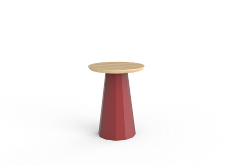 ANKARA stool with wooden top (45x35x) - Your selection in the ANKARA collection on MatiereGrise Decoration