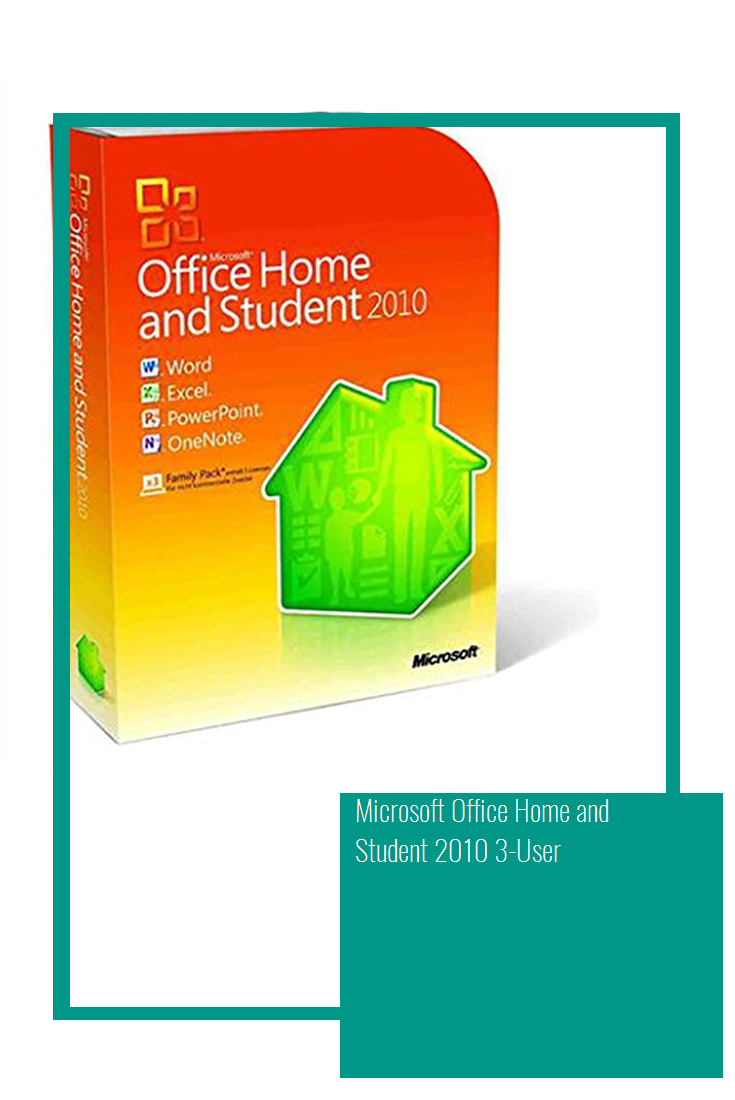 Microsoft Office Home and Student 2010 3-User | Microsoft ...