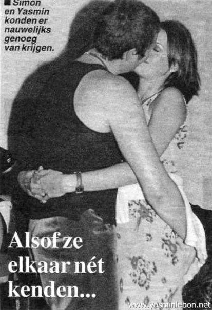 Simon & Yasmin Le Bon 1994  INXS party