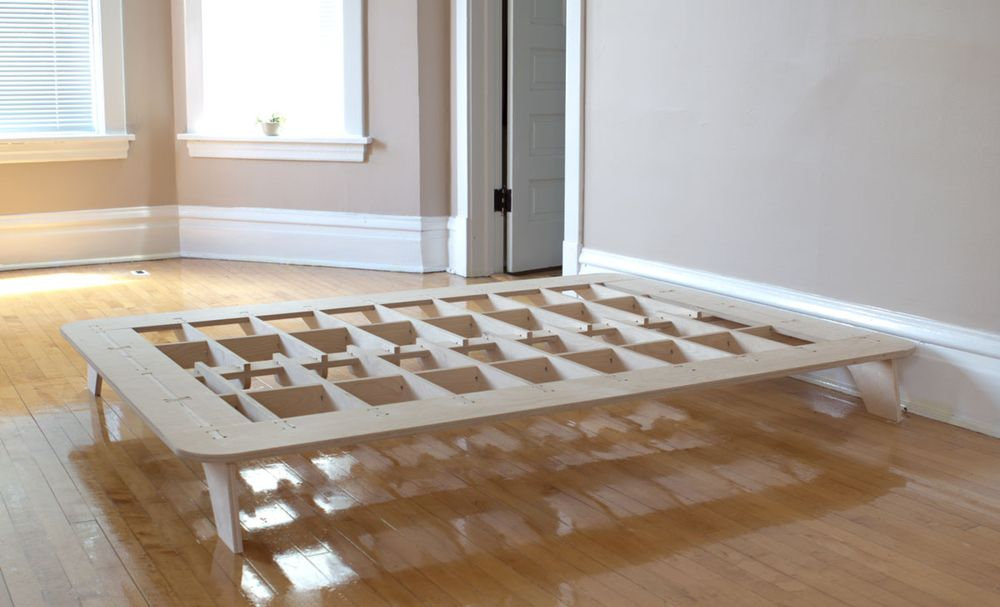 Plywood bed frame cnc meble 2 pinterest cnc bed frames and plywood - Plywood for platform bed ...