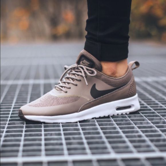 nike air max thea leather trainers by cat