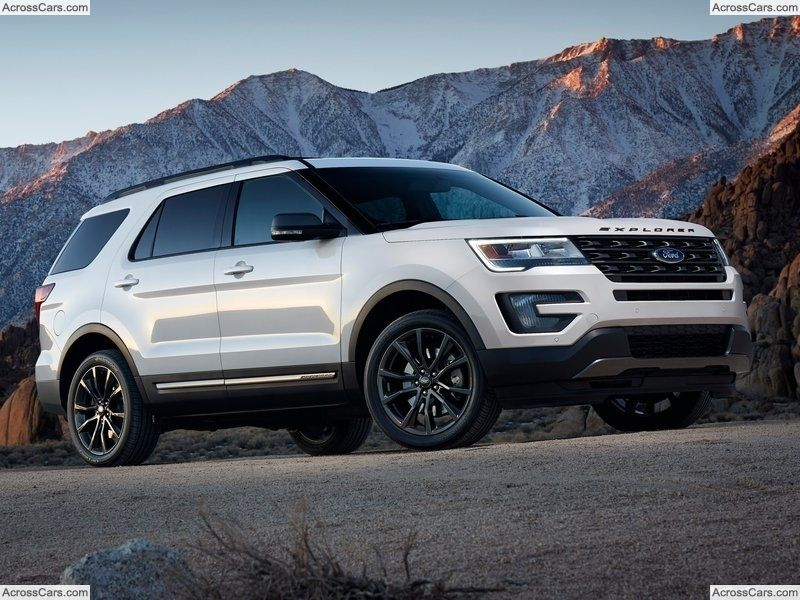 Ford Explorer XLT Sport Appearance Package (2017) Ford