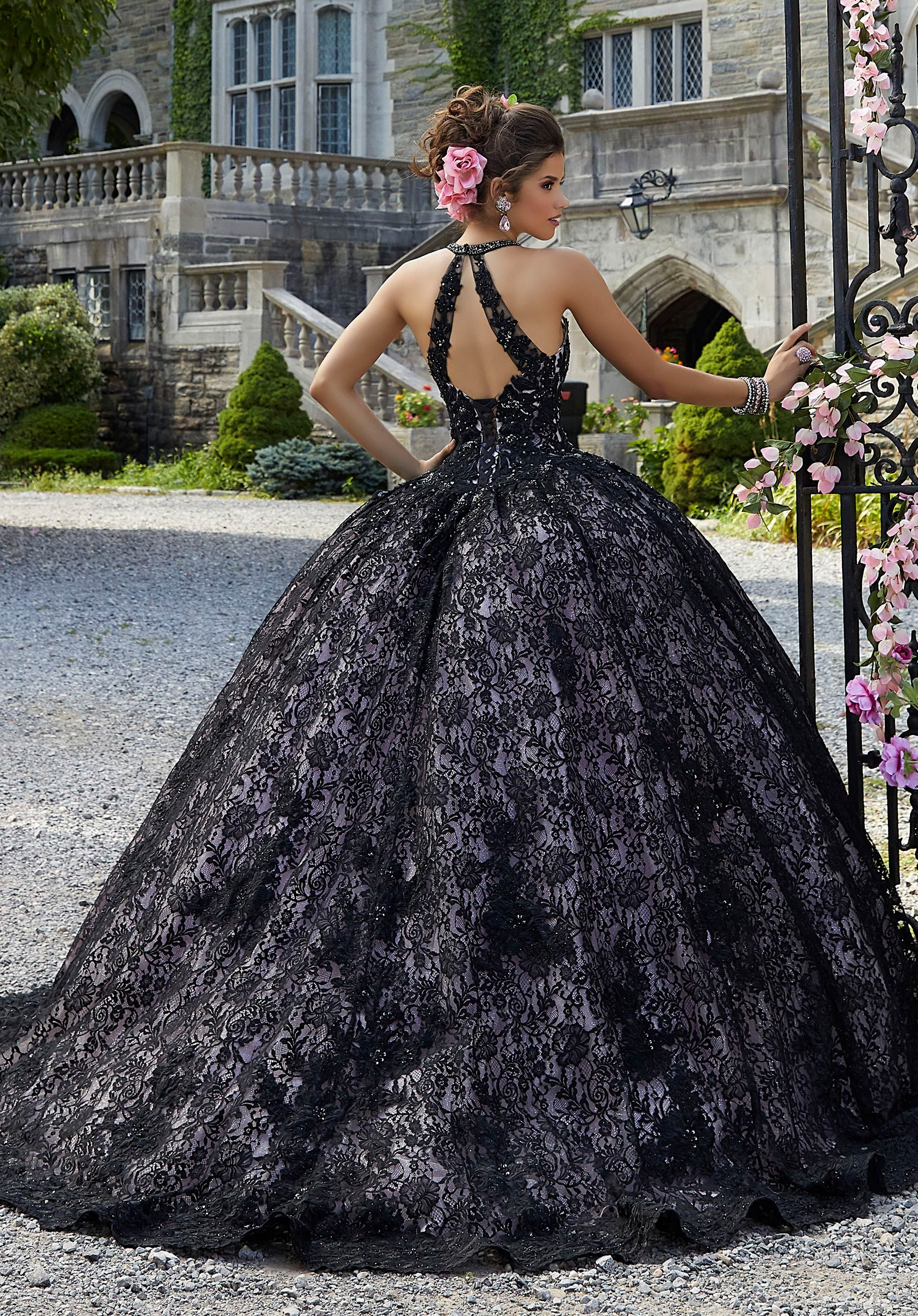 Lace And Sparkle Tulle Quinceanera Dress Morilee Style 34026 Quinceanera Dresses Black Quinceanera Dresses Sparkle Tulle Skirt [ 2630 x 1834 Pixel ]