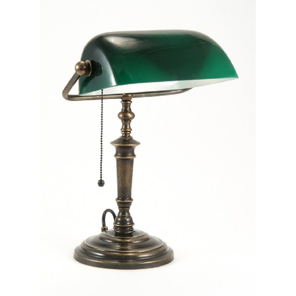 Vintage bankers desk lamp - Classic Green Bankers Desk Lamp