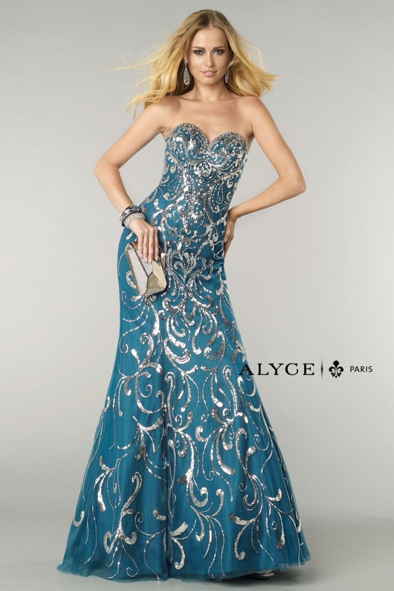 Alyce Paris | Prom Dress Style #6402 Full View | ALYCE PARIS ...