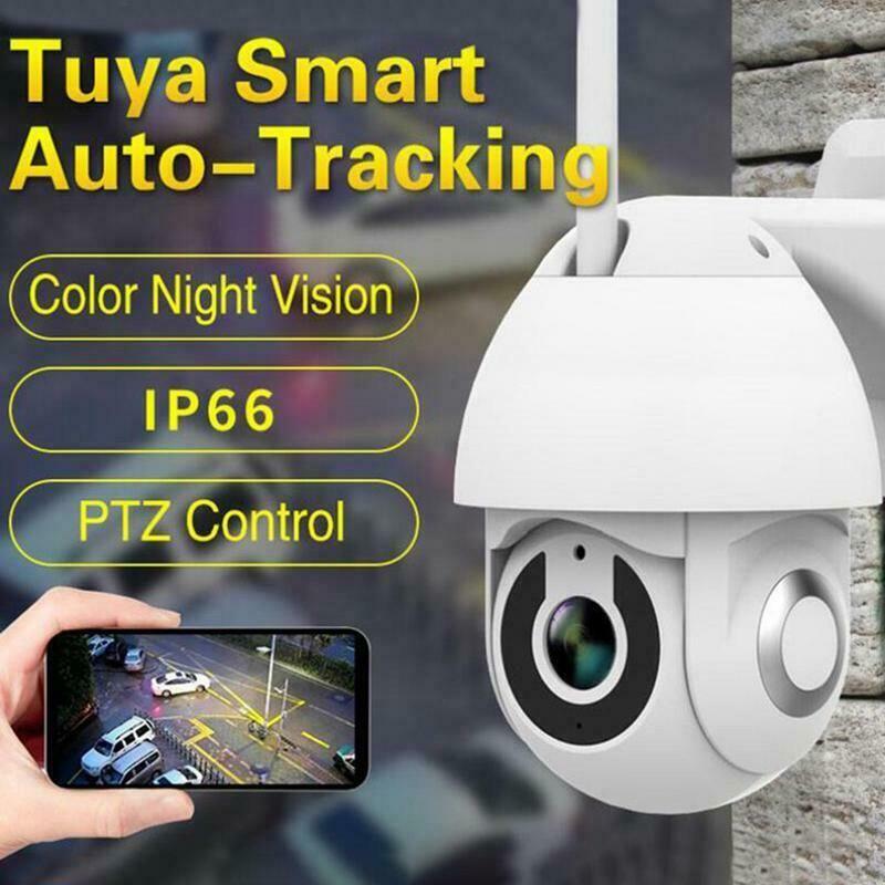 1080P HD IP WIFI Camera Überwachungskamera Outdoor CCTV PTZ IR Dome Nachtsicht