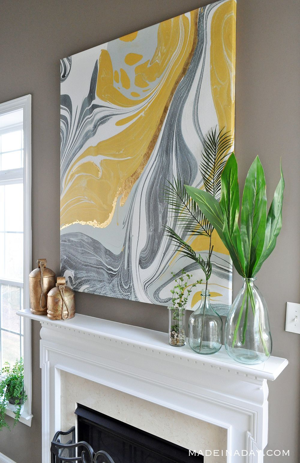 Gold Gilded Marble Canvas: Glam Up Your Wall Art Gold Gilded Marble Canvas: Glam up Your Wall Art Wall Art canvas wall art