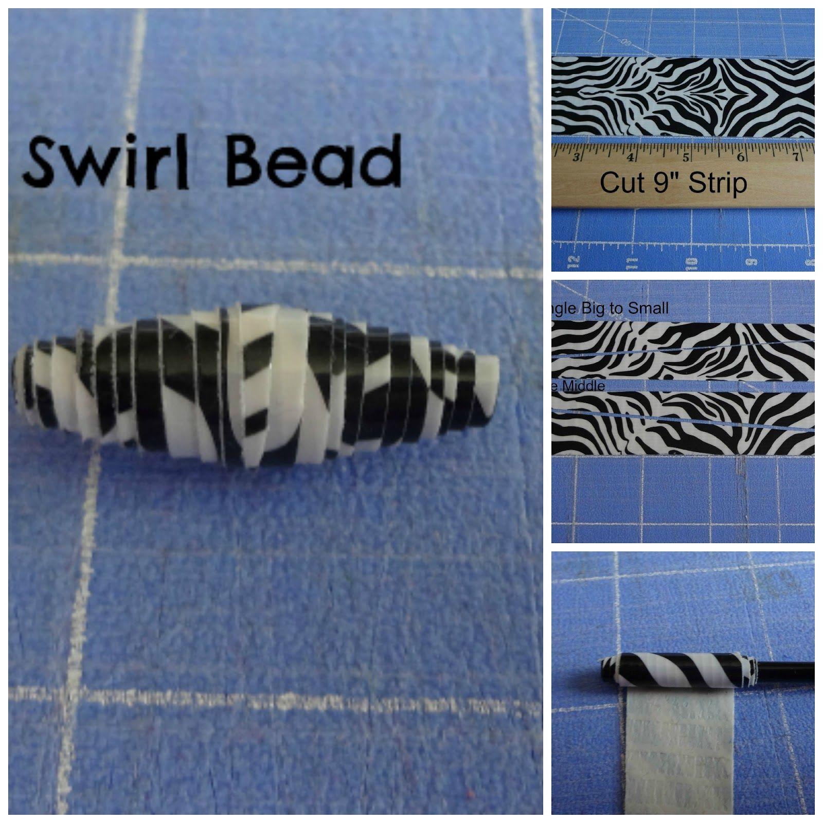 Crafty Night Owls: Duct Tape Bead Tutorial