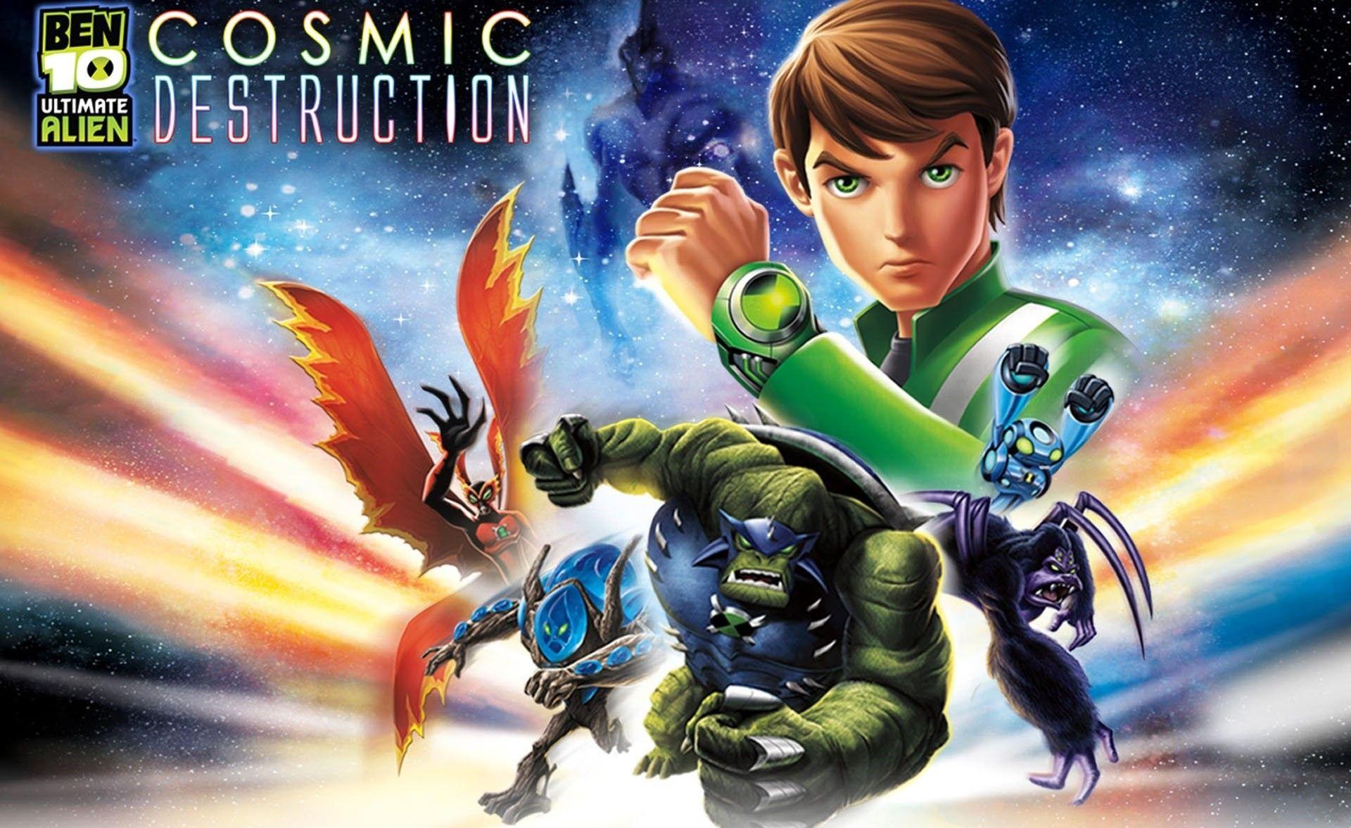 Ben 10 Ultimate Alien Cosmic Destruction Jogos De Xbox 360 Ben 10 Jogos Xbox