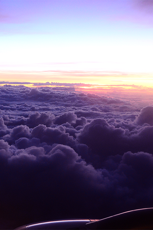 Purple Clouds (by Abrenica Edward)