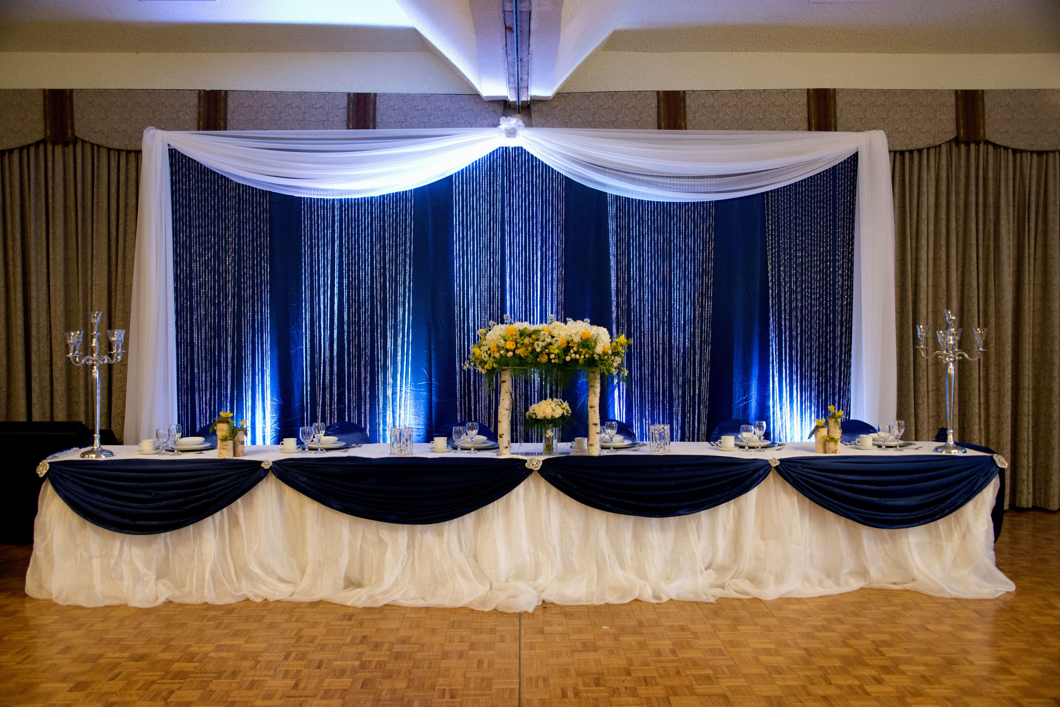head table decoration - Google Search   wedding ideas   Pinterest ...
