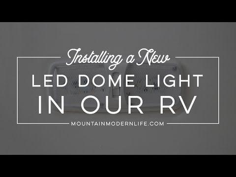 How to update rv interior lighting
