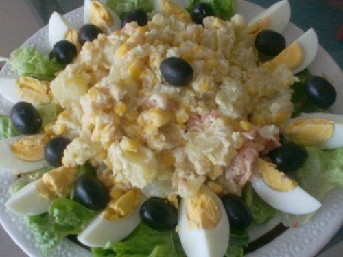 Salade De Pomme De Terre Et Au Thon Cuisine A Tester Pinterest