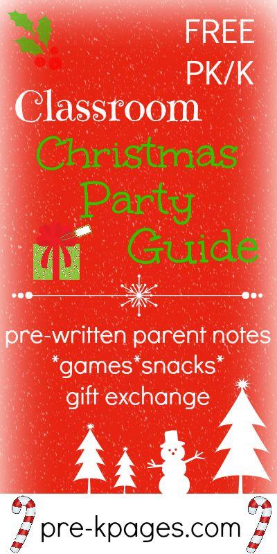 Preschool classroom christmas gifts