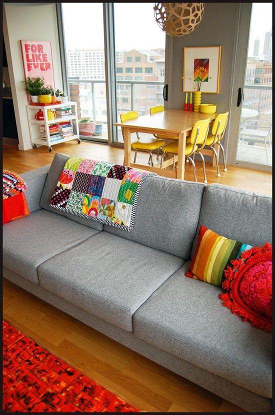 IDEAS DECO como decorar en AMARILLO Home ) Pinterest - eklektik als lifestyle trend interieurdesign