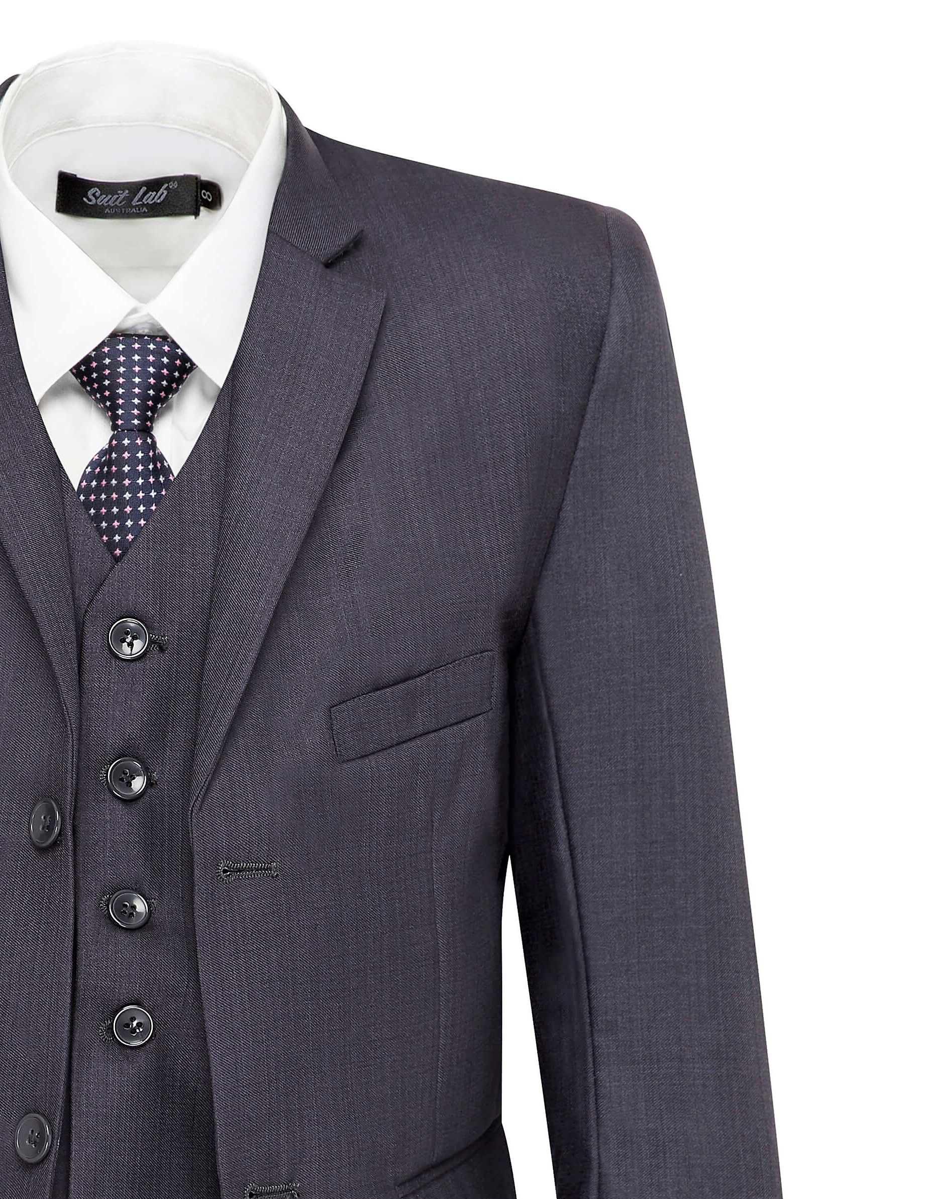 814539998fc8 Charcoal Grey Boys Suit - Page Boy, Church, Weddings, Christenings, Holy  Communions