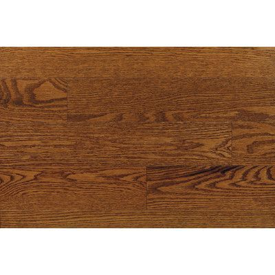 "Forest Valley Flooring Ajaccia 2-1/4"" Solid Red Oak Hardwood Flooring in Pacific"