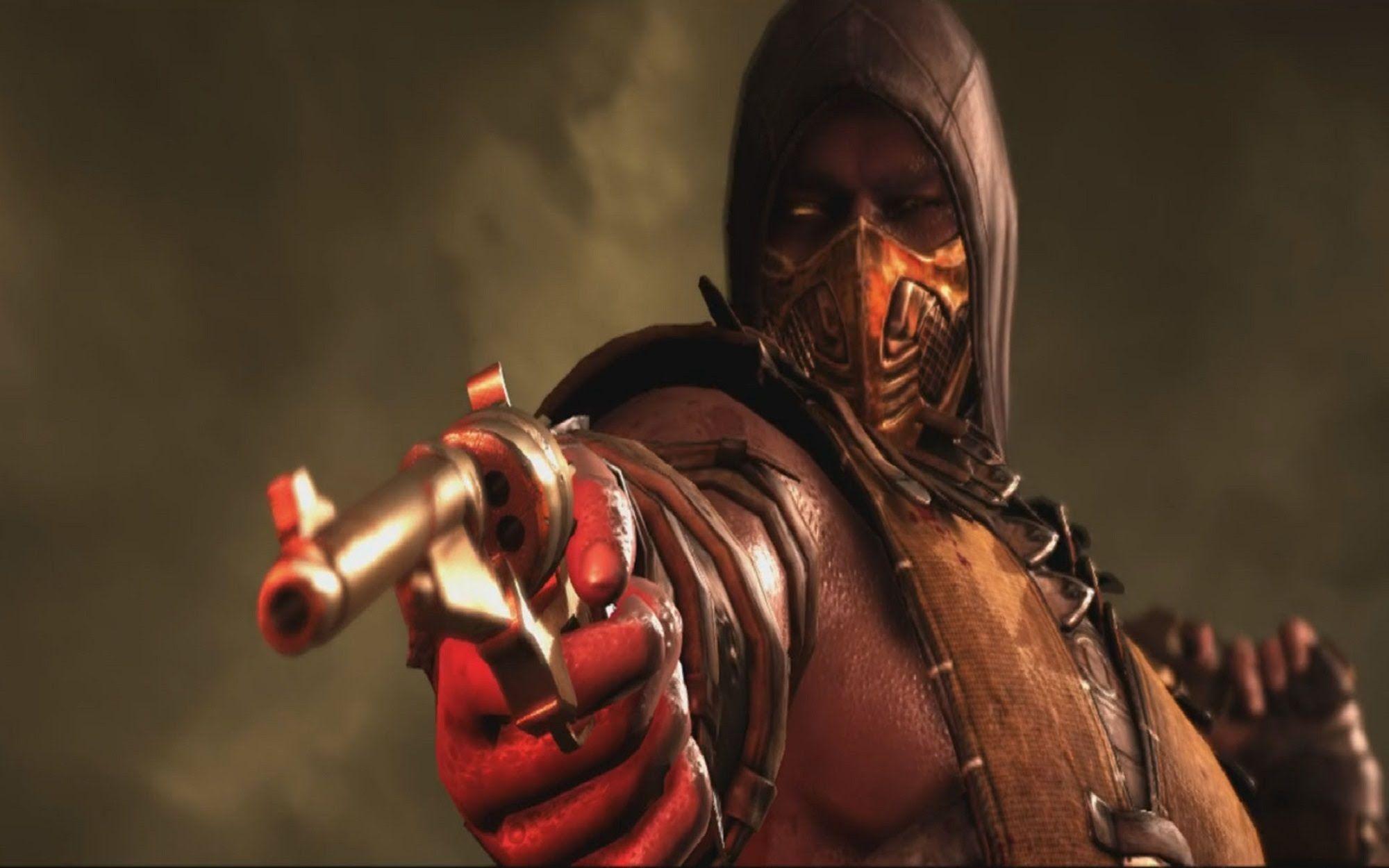 Mortal Kombat X: Scorpion And Erron Black Swap Fatalities