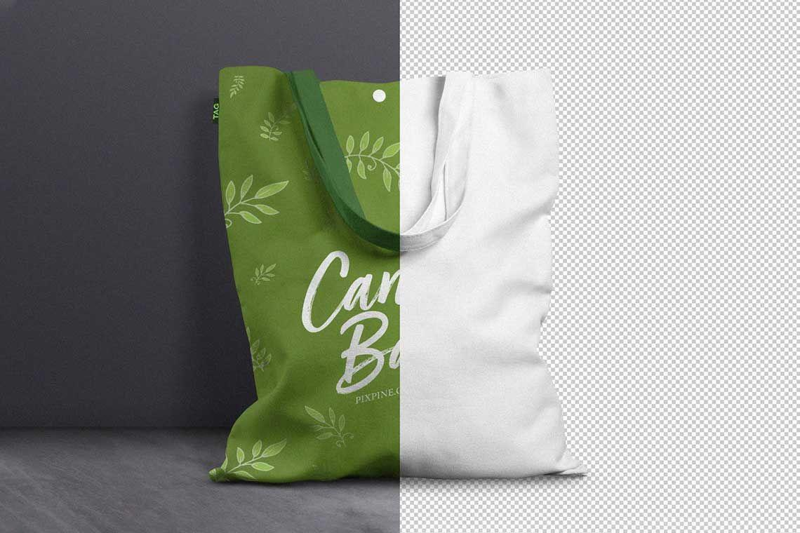Download 20 Free Tote Bag Mockups The Designest Bag Mockup Free Tote Woven Tote Bag