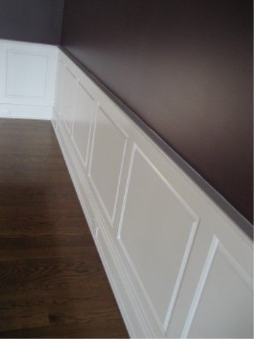 Wainscot Is Usually The Bottom 36 Quot Of The Wall It Can Be