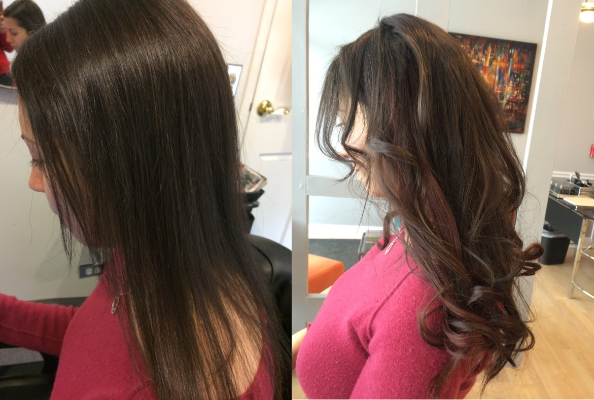 Tape In Extensions Chicago Il Chicago Hair Extensions Salon Visit