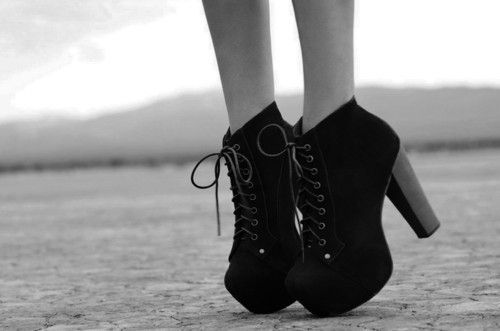 Fashion photography black and white shoes images