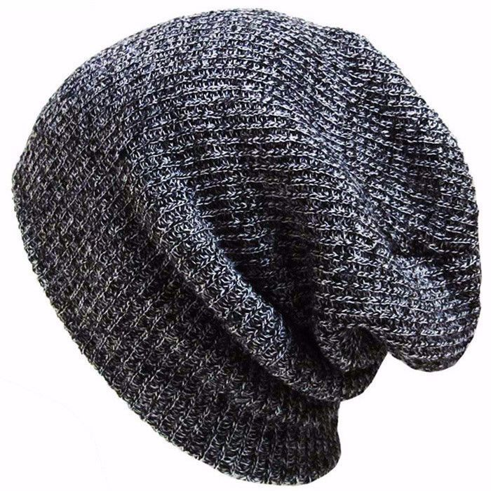4506b14f3ef Keep warm and in style with these knit slouch beanies. Material  Cotton