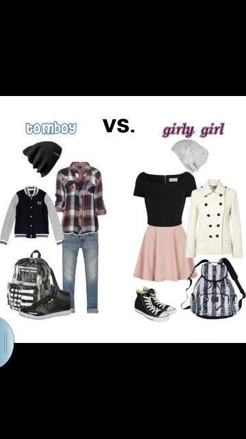 e751cada2a87 Tomboy vs girly girl | maddie | Tomboy dresses, Tomboy outfits, Girl ...