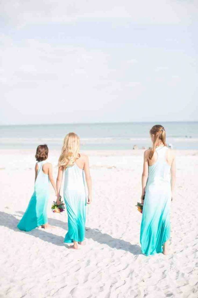 Beach themed bridesmaid dresses beach bridesmaid dresses for Beach themed wedding dress