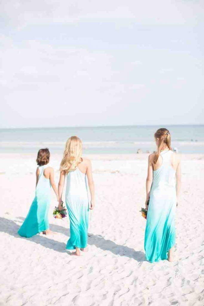 Beach Themed Bridesmaid Dresses | Beach Bridesmaid Dresses | Pinterest