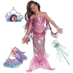 Rubies 882720 Precious Pink Mermaid Ariel Disney Princess Dress-up Girl Costume
