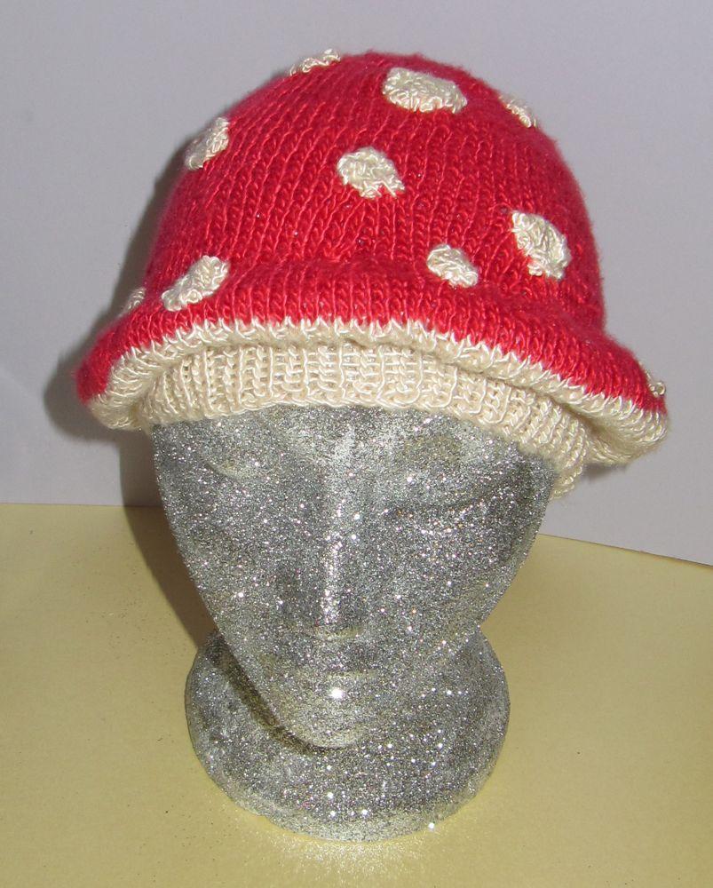 tm1 Toddler Mushroom Hat