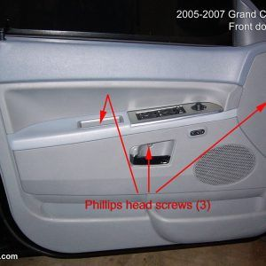 2005 Jeep Grand Cherokee Laredo Interior Door Handle Jeep Grand Jeep Grand Cherokee Jeep