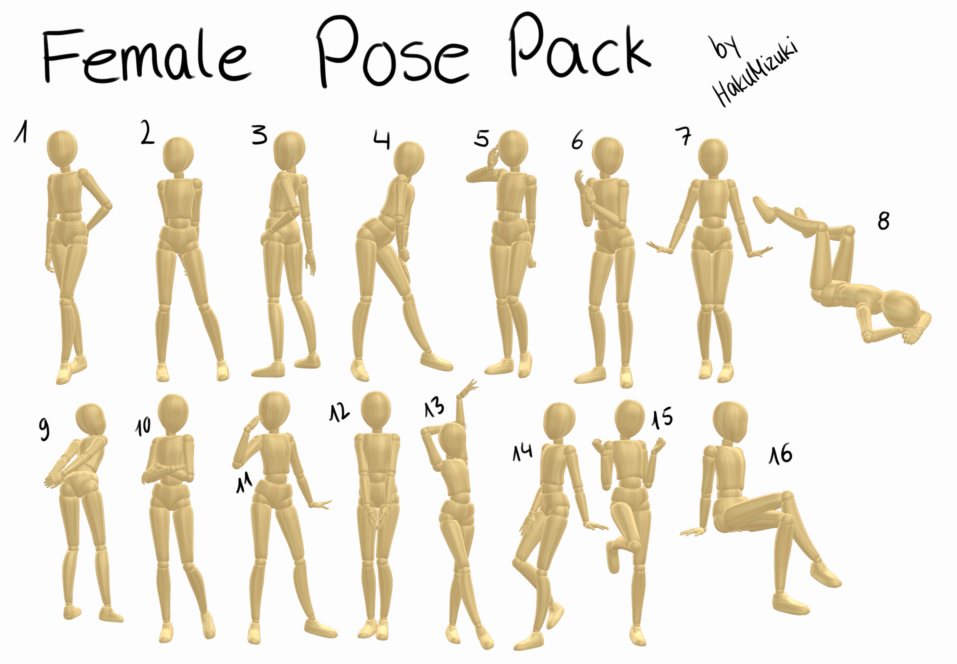 Pose By Hand Xxx 44