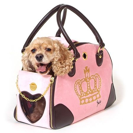 Juicy Couture For Dogs Juicy Couture Dog Carrier Pink Dog