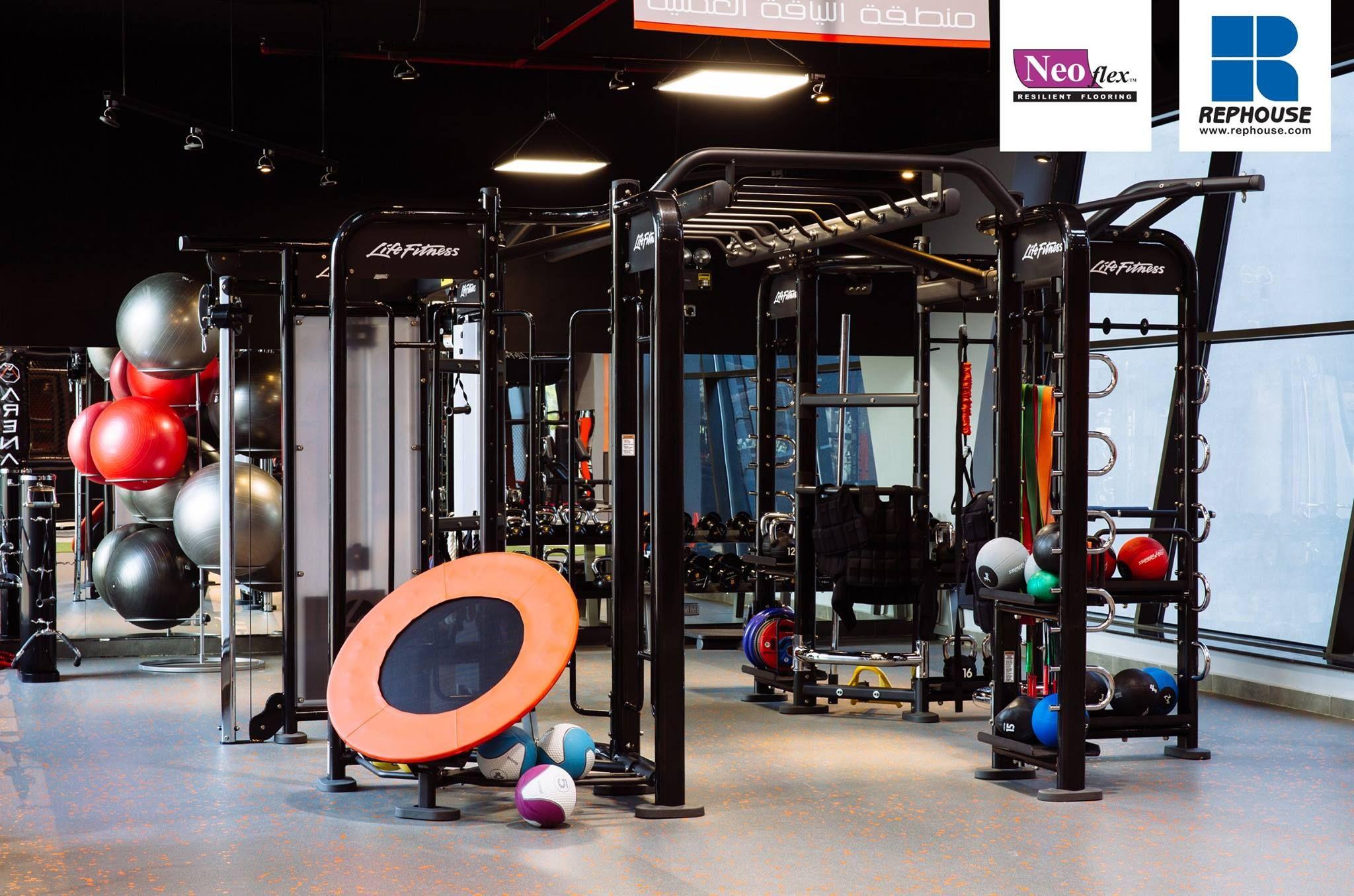 Neoflex 600 Series BFC Rubber Fitness Flooring @ Arena Saudi