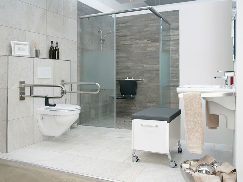 Barrierefreies Bad Zuhause Universal Design Home Bathroom