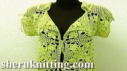 Crochet chaqueta / Cardigan Tutorial 11 Parte 3 de 3