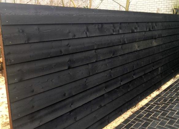 Wonderbaar Zweeds Rabat Potdekselplank Geïmpregneerd en dubbel zwart gecoat XY-81