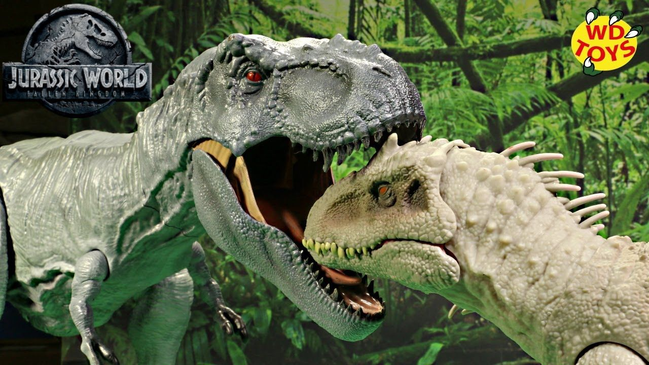 Jurassic World Camp Cretaceous Feeding Frenzy Indominus